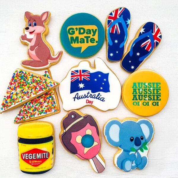 Australia Day Cookie Promotion